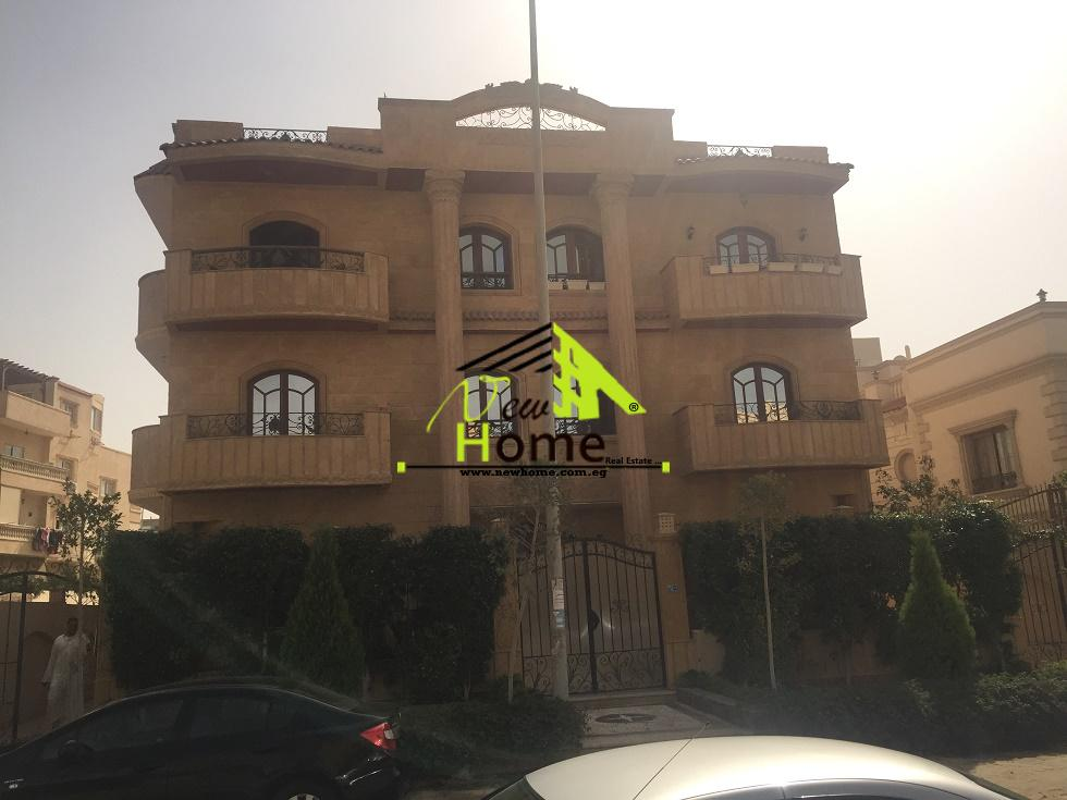 For rent basement of  villas Al Nargas 4 Fifth District New Cairo