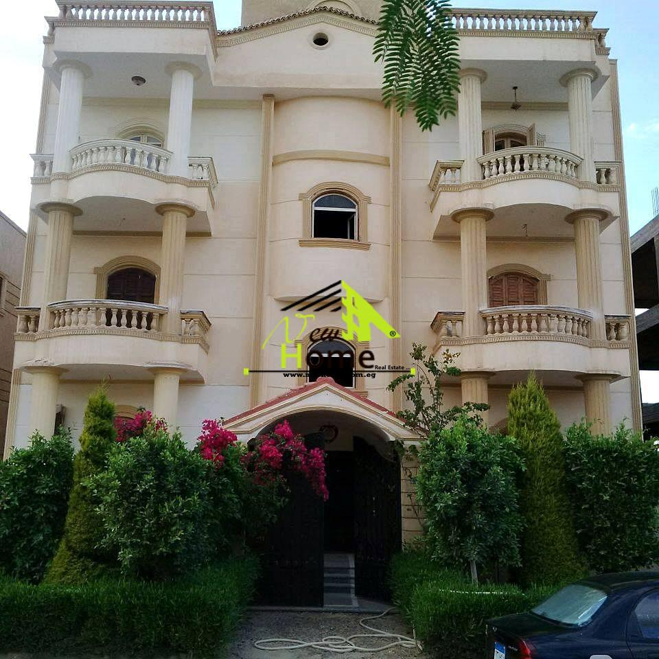 For sale apartment  Super Lux villas fifth Nargas Fifth District cairo