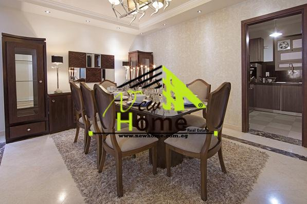 For sale Flat Super Lux Compound Ashagar Darna a best location Maadi