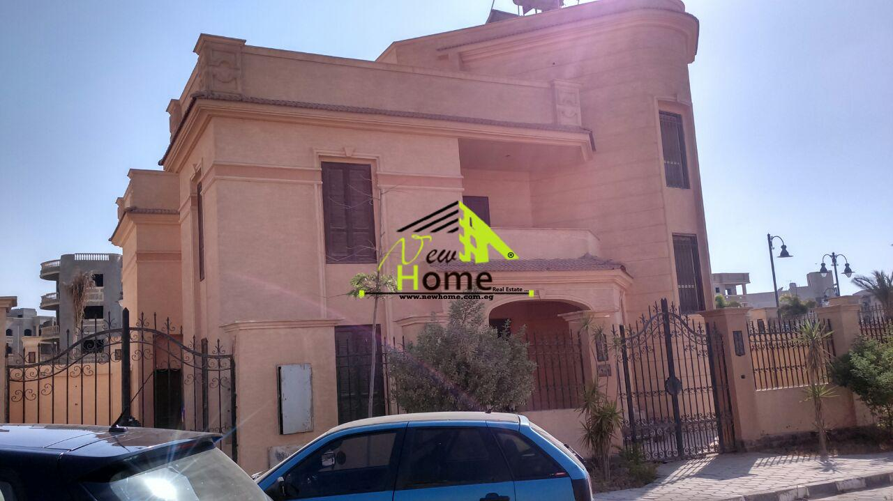 Villa stand alone for sale on Compound Tiba New Cairo fifth district