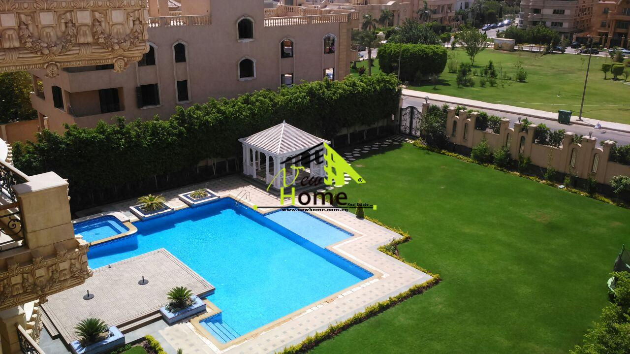Roof for sale with terrace compound Gharb El Golf fifth district
