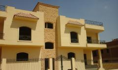 Twin Houses  for  sale on El  Sheikh Zayed City in Rabwa 1 on  Giza