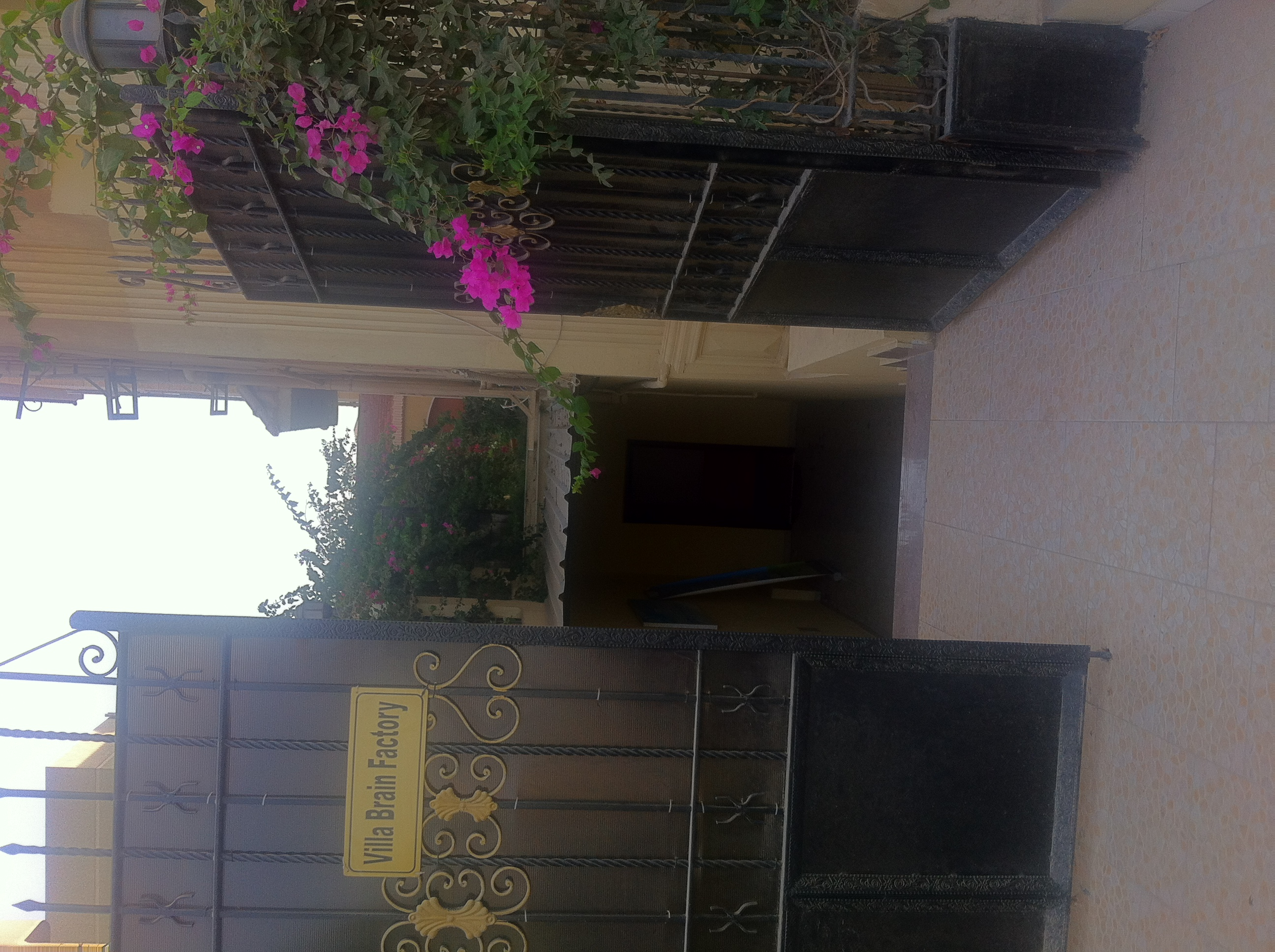 For Rent basement of with terrace villas Ganoub Academy Fifth District