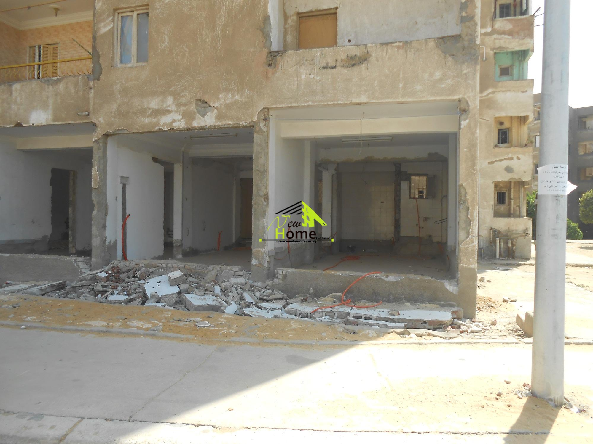 shop for rent  in Third quarter bullding fifth gathering  new cairo