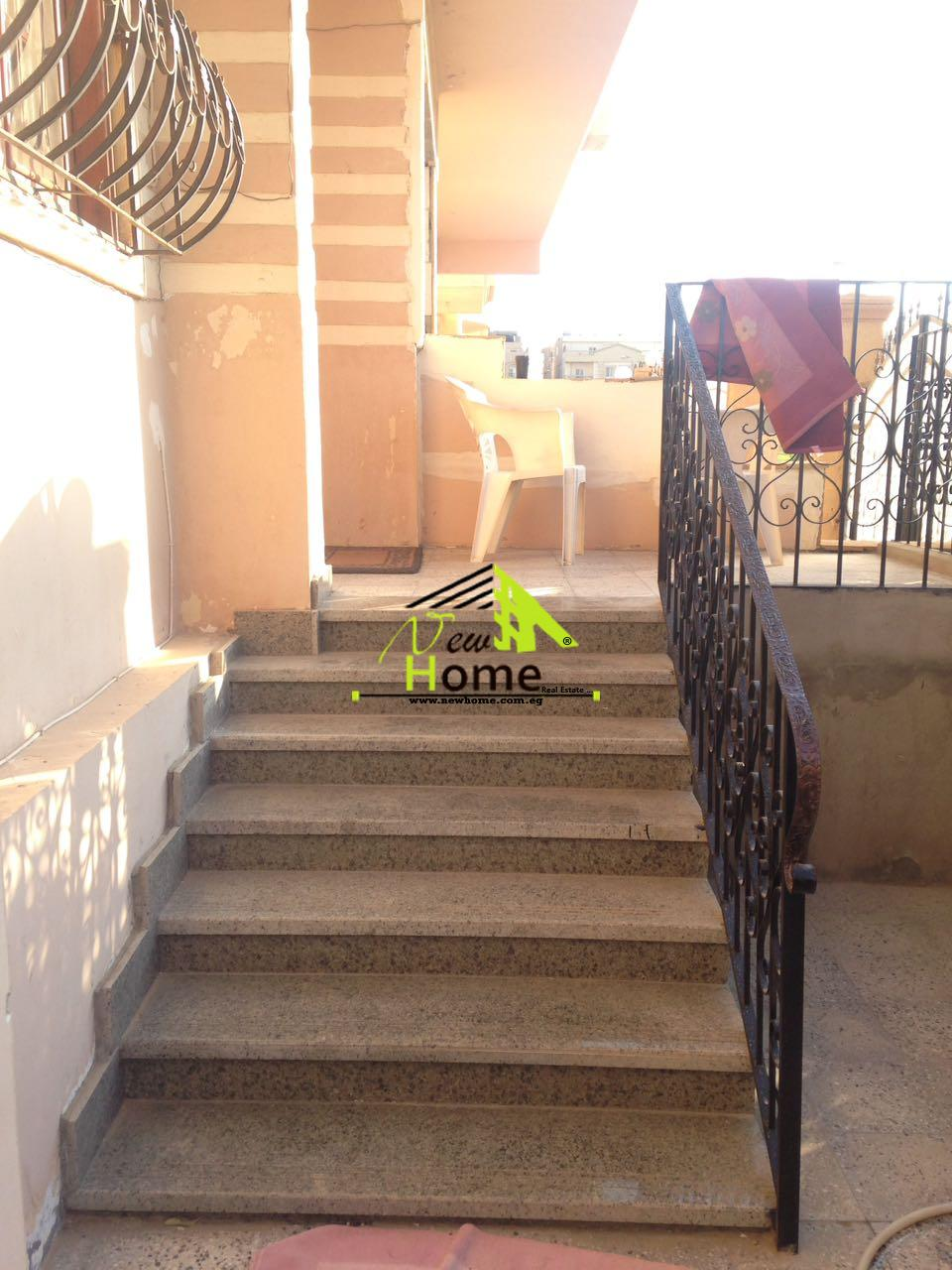 Duplex for sale 400 m , Narges 8 , New Cairo , with ground super lux
