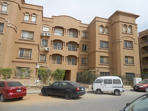 Furnished Apartment For rent with garden  in Mena Residence Compound