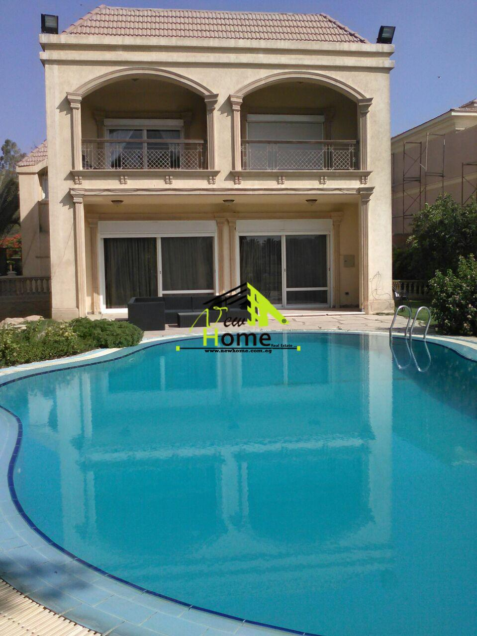 For rent Separate Villa in Compound Mirage NewCairo the first assembly