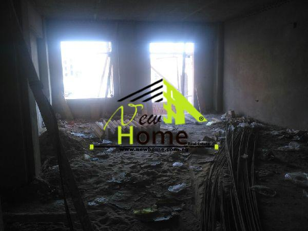 Apartment for sale in New Cairo First compound semi - finished 220 m first floor