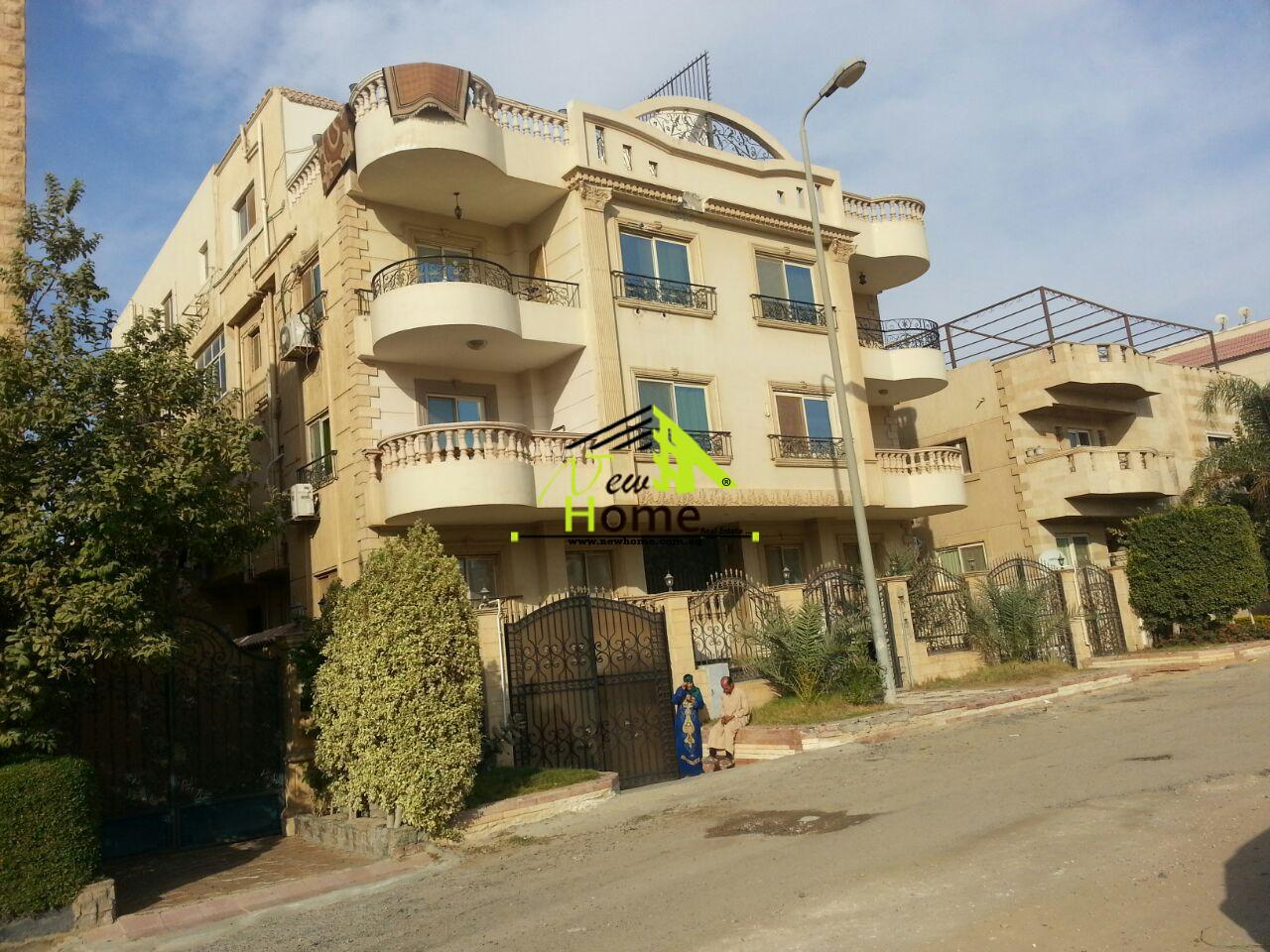 Duplex For sale in 5th settlement , Narges villas ,Ground and basement