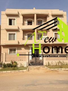 For Sale half roof villas Benfsj first assembly New Cairo Semi Finishe